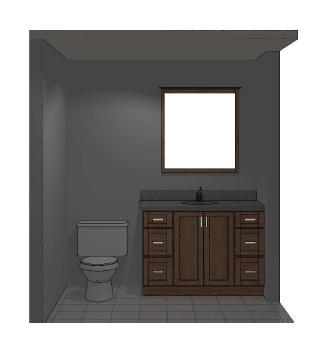 Bath rendering 1