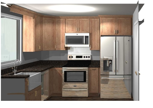 Kitchen rendering 1