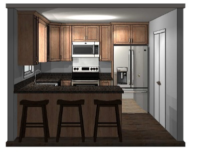 Kitchen rendering 2